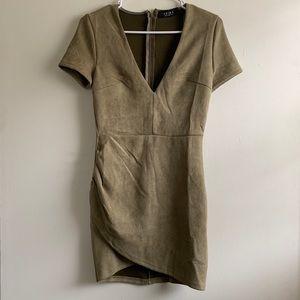 AKIRA | Olive Green Dress